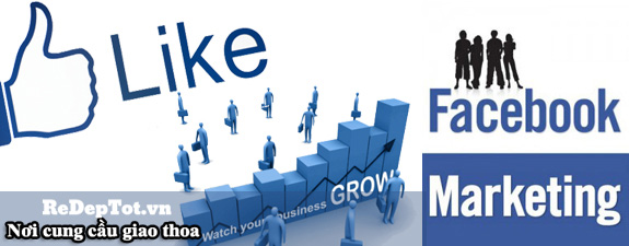 facebook marketing gia re