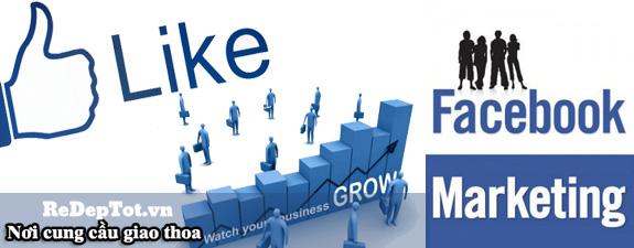facebook marketing gia re