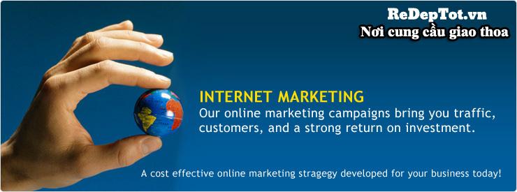 marketing online gia re