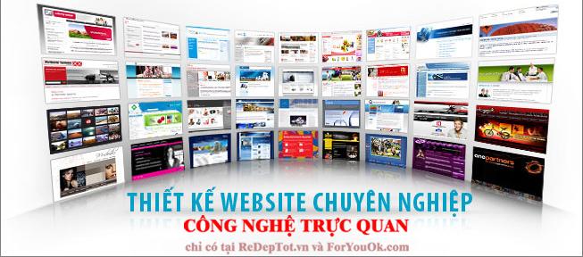 thiet ke website chuyen nghiep