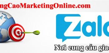 Quảng cáo trên Zalo